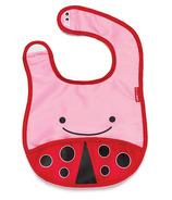 Skip Hop Zoo Bibs Tuck-Away Bib Lady Bug Design
