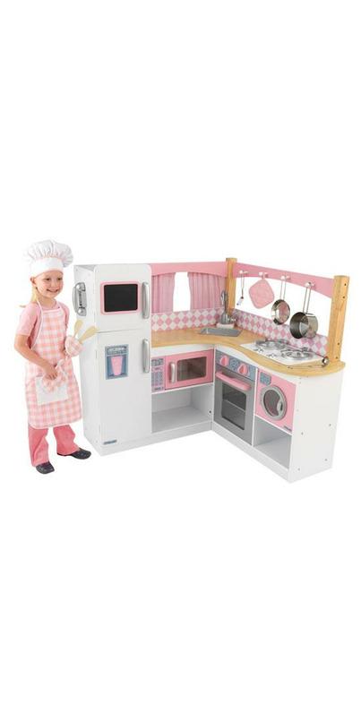 Buy kidkraft grand gourmet corner kitchen at - Kidkraft grand gourmet rot ...