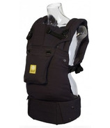 Lillebaby Complete Original Black Baby Carrier With Front Pocket