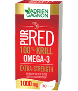 Adrien Gagnon PurRed 100% Krill 1000 mg