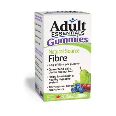 Adult Essentials Gummies Natural Source Fibre