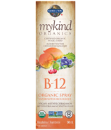 Garden of Life MyKind Organics Vitamin B-12 Organic Raspberry Spray