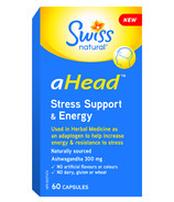 Swiss Natural aHead Stress Support & Energy