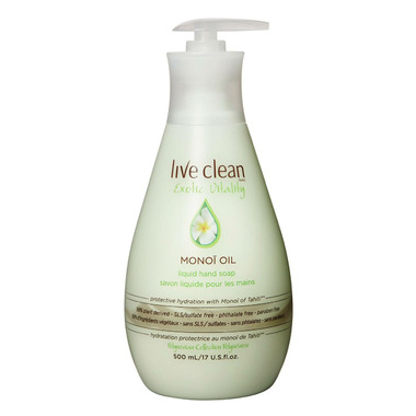 Live Clean Exotic Vitality Monoi Oil Hand Soap