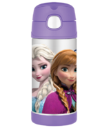 Thermos Stainless Steel Vacuum Insulated Straw Bottle Frozen