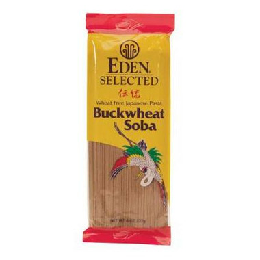Eden Selected 100% Buckwheat Soba Pasta