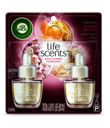 Air Wick Scented Oil Twin Life Scents Refill Summer Delights