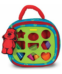 Melissa & Doug K's Kids Take-Along Shape Sorter Baby & Toddler Toy