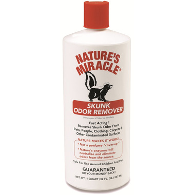 Nature\'s Miracle Skunk Odour Remover
