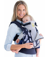 Lillebaby Complete All Seasons Charcoal Feathers Baby Carrier