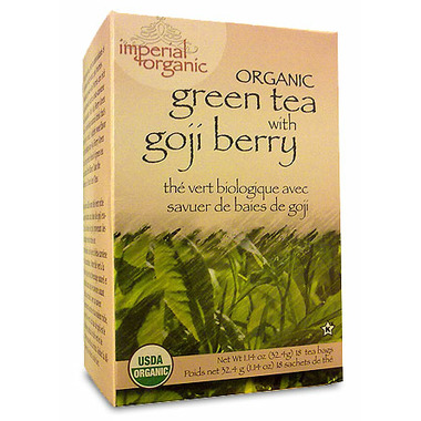 Uncle Lee\'s Imperial Organic Green Tea With Goji Berry