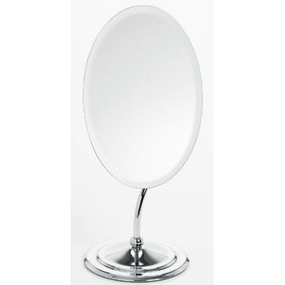 Buy danielle by upper canada oval vanity mirror with for Oval mirror canada