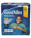 GoodNites Youth Pants For Boys Giga Pack