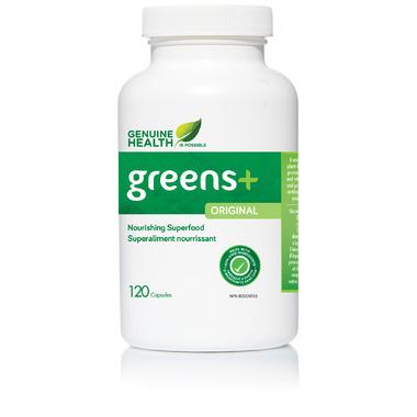 Genuine Health Greens+ Capsules