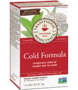Traditional Medicinals Cold Formula Tea