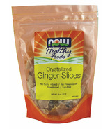 NOW Real Food Crystallized Ginger Slices