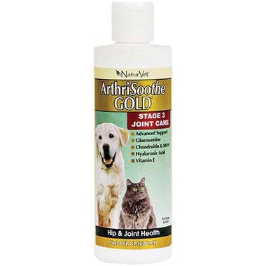 Naturvet ArthriSoothe Joint Care Gold Liquid