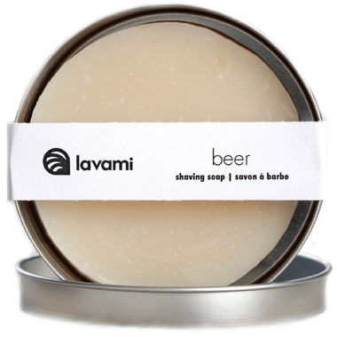 Lavami Beer Shaving Soap With Tin