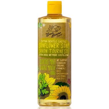 Green Beaver Extra Gentle Castile Sunflower Liquid Soap