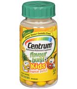 Centrum Flavour Burst Kids Multivitamin Chews in Tropical Fruit Flavour