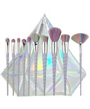 Zoe Ayla Unicorn Essentials Brush Set with Diamond Case
