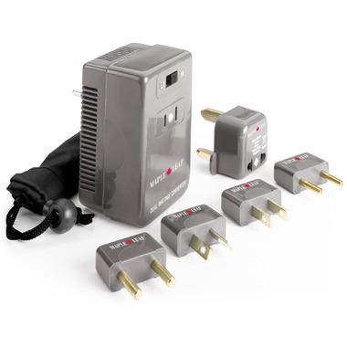 Maple Leaf Travel Dual Wattage Converter & Adaptor Kit