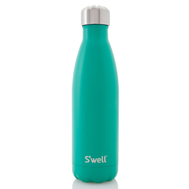 S\'well Satin Collection Stainless Steel Water Bottle Eucalyptus