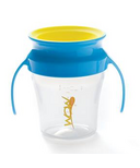 Wow Baby Wow Cup Blue Handle & Yellow Valve