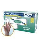 Maxill Vinyl Lightly Powdered Gloves