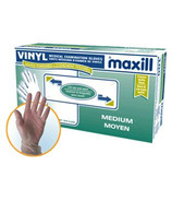 Maxill Vinyl Lightly Powdered Gloves