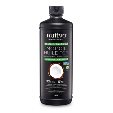 Nutiva Organic Liquid MCT Coconut Oil