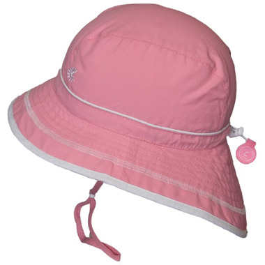 Calikids Quick-Dry Bucket Hat Extra Wide Brim Candy Pink