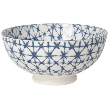 Now Design Bowl Stamped Shibori Serving