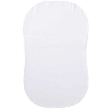 Halo Bassinest Organic Cotton Fitted Sheet White
