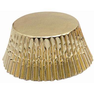 Gold Foil Mini Bake Cups