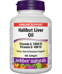 Webber Naturals Halibut Liver Oil