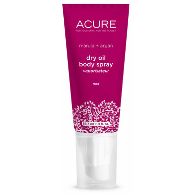 Acure Dry Oil Body Spray Rose