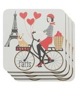 Now Designs Tour De Paris Coasters Set