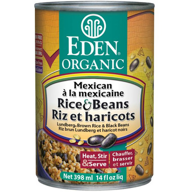 Eden Organic Canned Mexican Rice & Black Beans