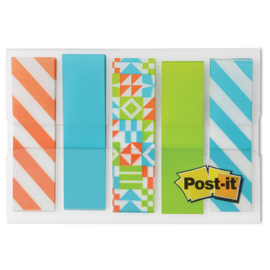 Post-it Designer Flags Geo Collection