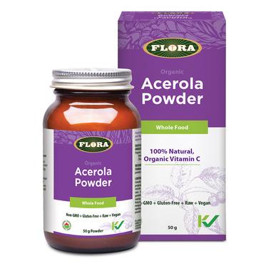 Flora Organic Acerola Powder