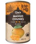Cha's Organics Mango Chunks In Juice