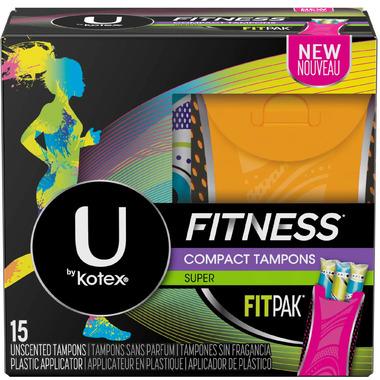 U by Kotex Fitness Tampons Super
