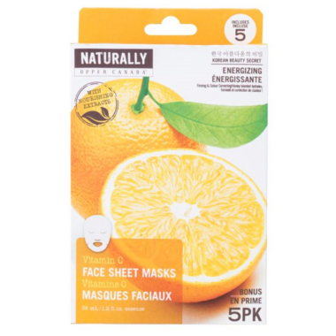 Naturally Upper Canada Vitamin C Face Mask