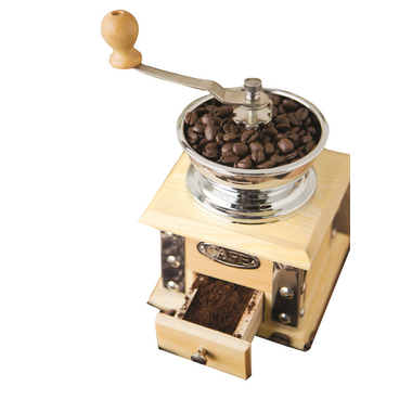Fox Run Classic Coffee Grinder Light Wood