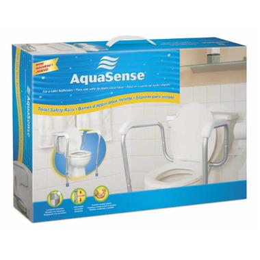 AquaSense Adjustable Toilet Safety Rails
