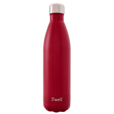S\'well Satin Collection Stainless Steel Water Bottle Red