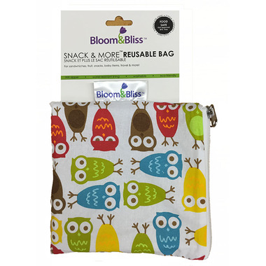 Bloom & Bliss Snack Bag & More Reusable Bag Hoot!