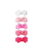 Baby Wisp Small Snap Tuxedo Bows Collection Pink Haze