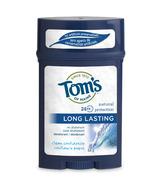 Tom's of Maine Men's Long Lasting Wide Stick Deodorant